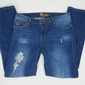Kut from the Kloth | Distressed Straight Jeans
